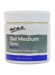 Medium GEL Mont Marte Acrylic lucios 250ml