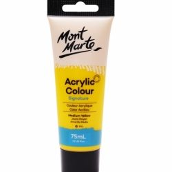 Vopsea acrilica Mont Marte Studio 75ml - Medium Yellow