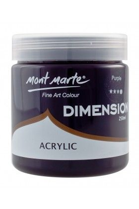 Vopsea acrilica Mont Marte Dimension 250ml, Purple